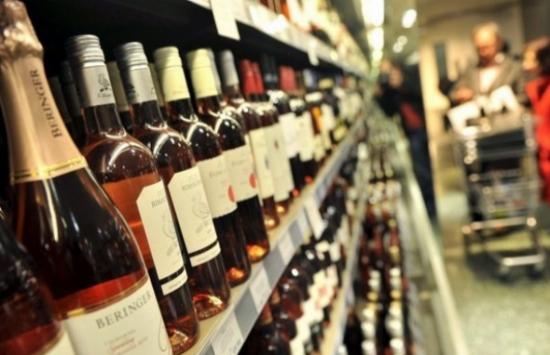 venta de alcohol