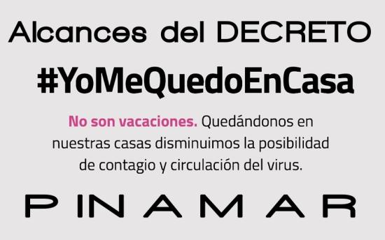 decreto cierre pinamar turismo coronavirus