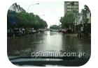 lluvias en pinamar
