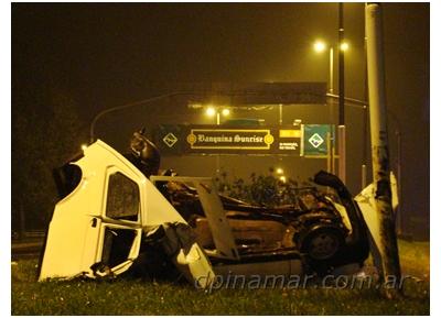 Grave accidente en Av. Bunge: 1 muerto