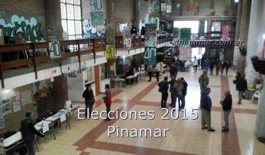 elecciones 2015 pinamar