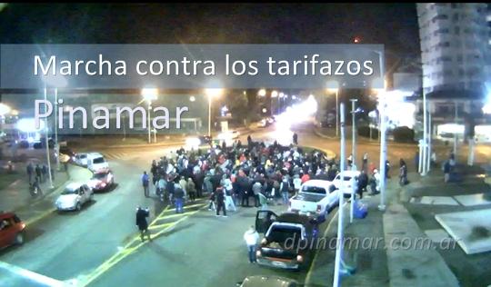 tarifazo marcha protesta