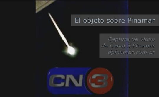 meteoro objeto volador pinamar