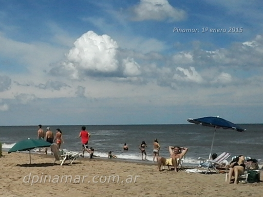 playa verano 2015 pinamar